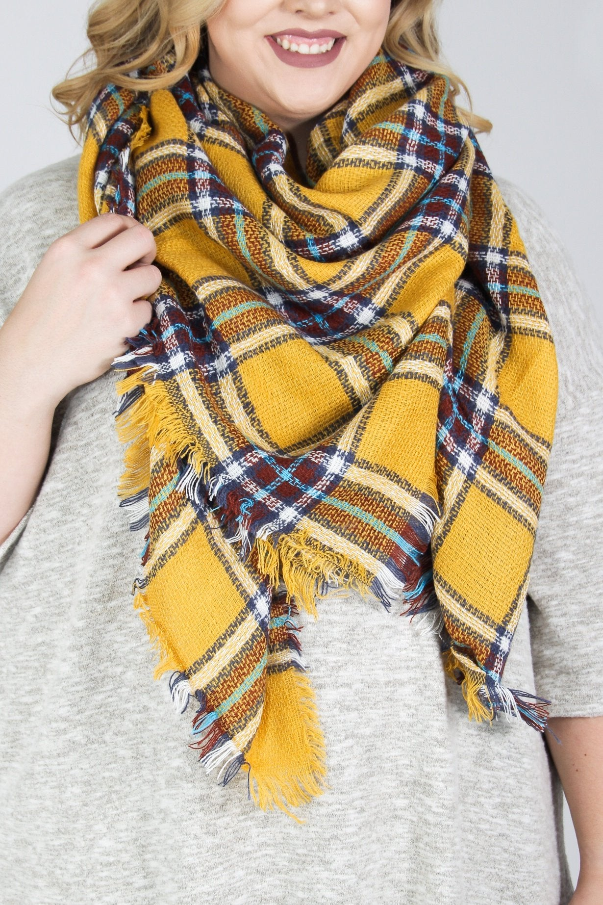 Sunny Blanket Scarf
