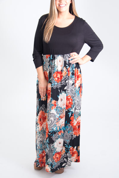 Alivia Curvy Dress