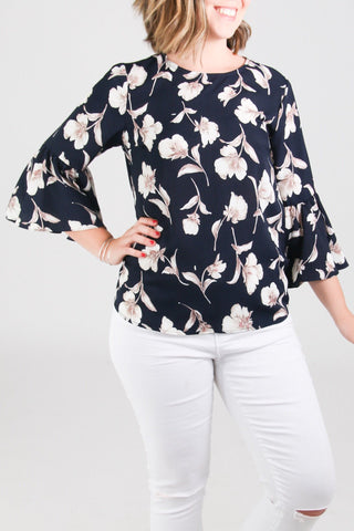 Ashley Floral Top
