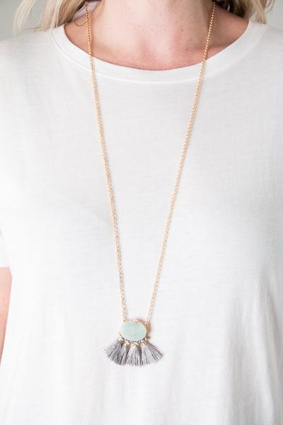 Nicole Stone Necklace