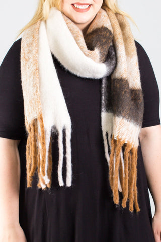 Chandler Plaid Scarf