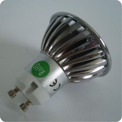 3 x 1W High power LED Bulb with GU10 fitting 4 PACK