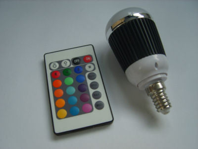 Mood light Colour Changing RGB LED Bulb E14