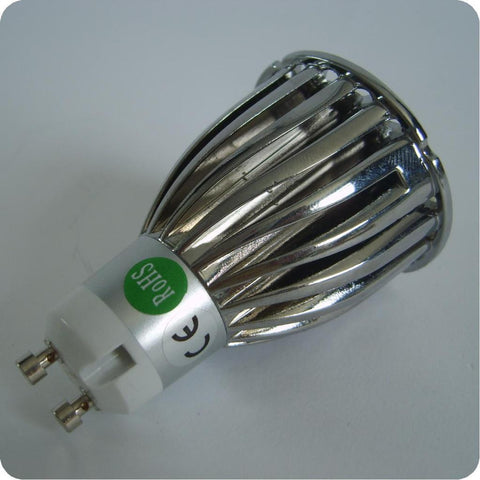 3 x 2w High Power LED Bulb with GU10 4 Pack
