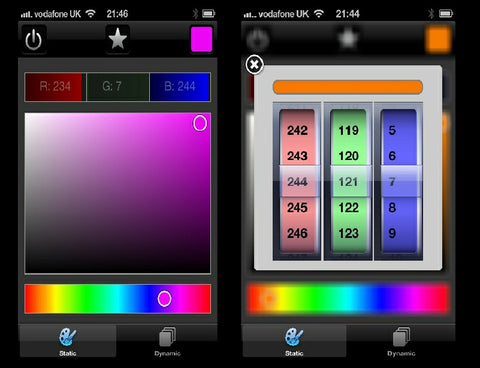 RGB Lighting Kit with Bluetooth Mobile App Control