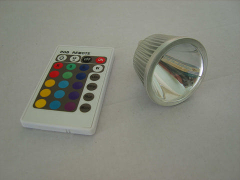 Colour changing bulb MR16