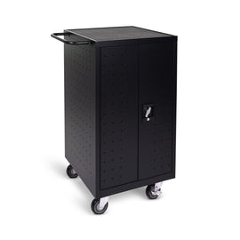 Luxor LLTP18-B 18-Unit Laptop / Chromebook Charging Cart - shopvsc