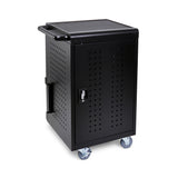 Luxor LLTM30-B 30-Unit Mobile Device Charging Cart - shopvsc