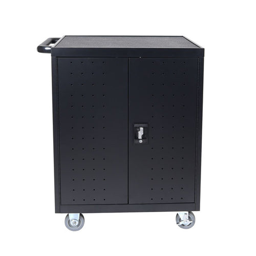 Luxor 32-Unit Laptop and Chromebook Charging Cart w/Timer