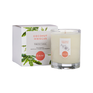 Natural Glass Candles - 3 Scents