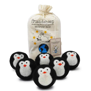 Penguin Dryer Balls
