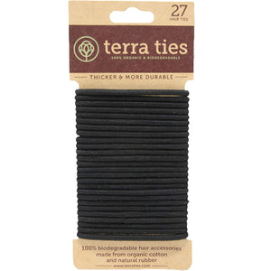 Plastic-Free Hair Ties Pack