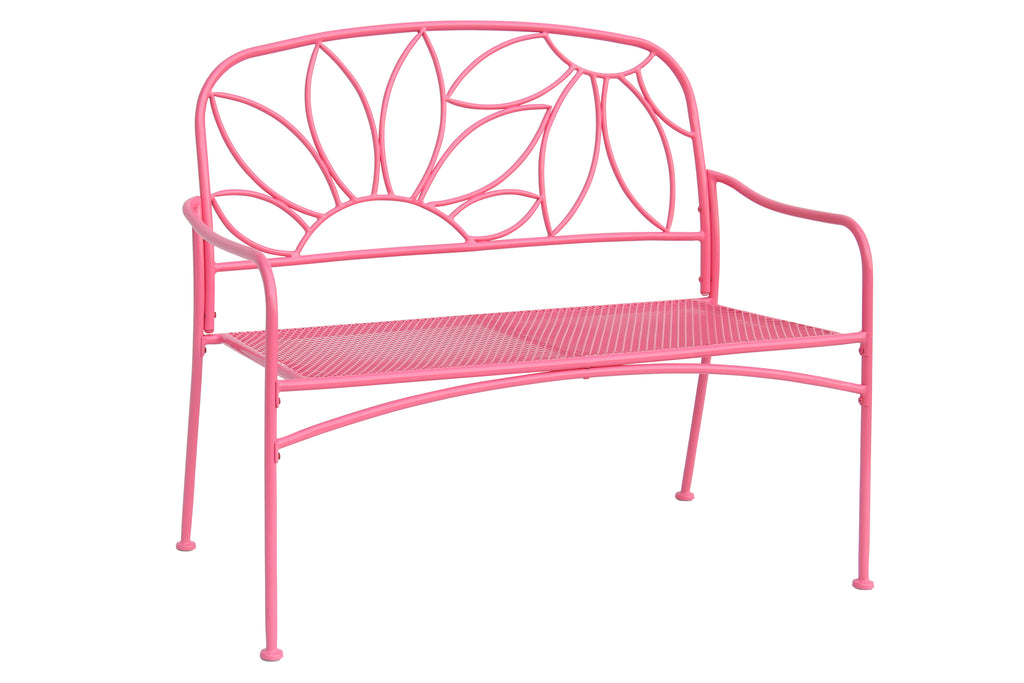 Bright & Fun Bench, Pink