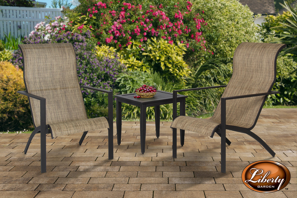 Fairlane 3 Piece Seating Set Brown