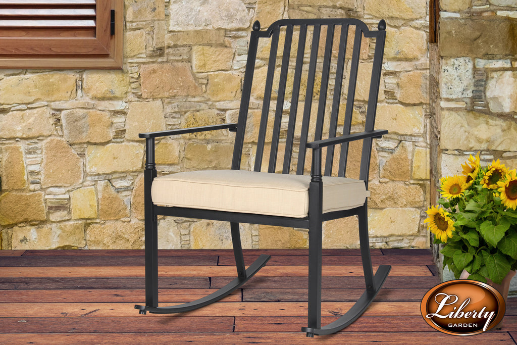 Cushion Rocking Chair Neutral