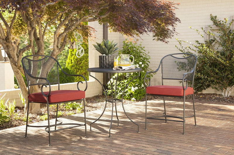 Birkdale 3 Piece Balcony Set, Red