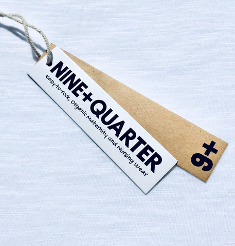 At NINE+QUARTER we aim to offer on-trend, organic and easy-to-rock maternity and breastfeeding clothes
