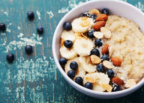 Oats are rich in fiber and a good source of several vitamins and minerals