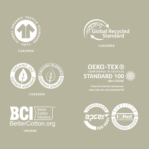 NINE+QUARTER - Our Mill's certifications