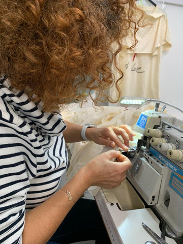 Our clothes are manufactured by a family-owned, female-led factory in Portugal