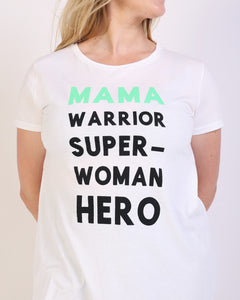Mama Warrior Maternity & Nursing T-shirt