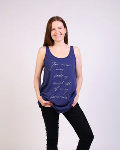 You Are My Todays Maternity & Breastfeeding Tank