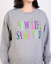 Load image into Gallery viewer, New Life Same You Maternity & Nursing Sweatshirt