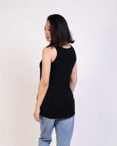 Mimi Black Maternity & Nursing Tank