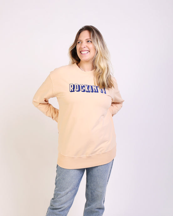 Rockin'It Maternity & Breastfeeding Sweatshirt