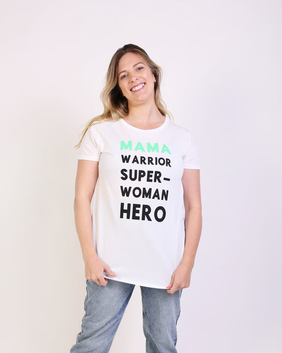 Mama Warrior Maternity & Breastfeeding T-shirt