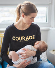 Load image into Gallery viewer, Maternity+Nursing Courage Longsleeve