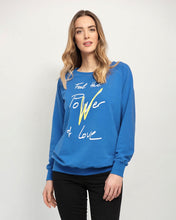 Load image into Gallery viewer, Power of Love Maternity & Breastfeeding Sweatshirt