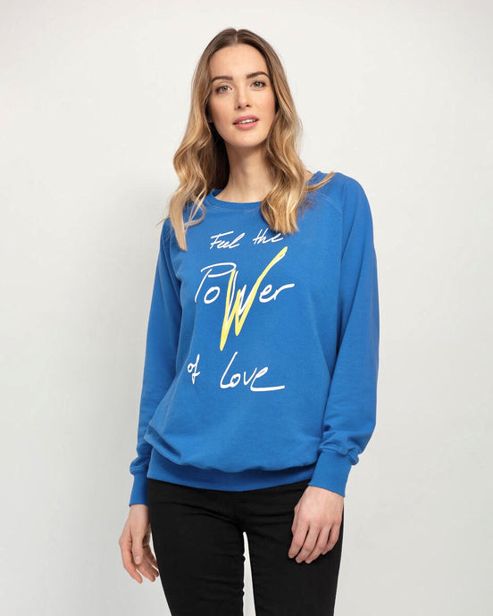 Power of Love Maternity & Breastfeeding Sweatshirt