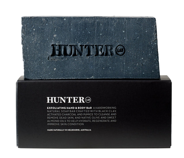 Hunter Exfoliating Body Bar 220g