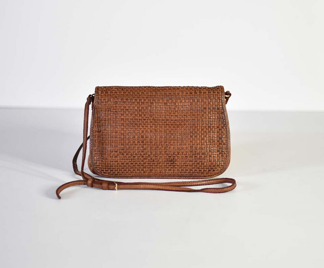 Thorne Woven Clutch