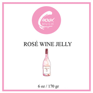 Rosé Wine Jelly