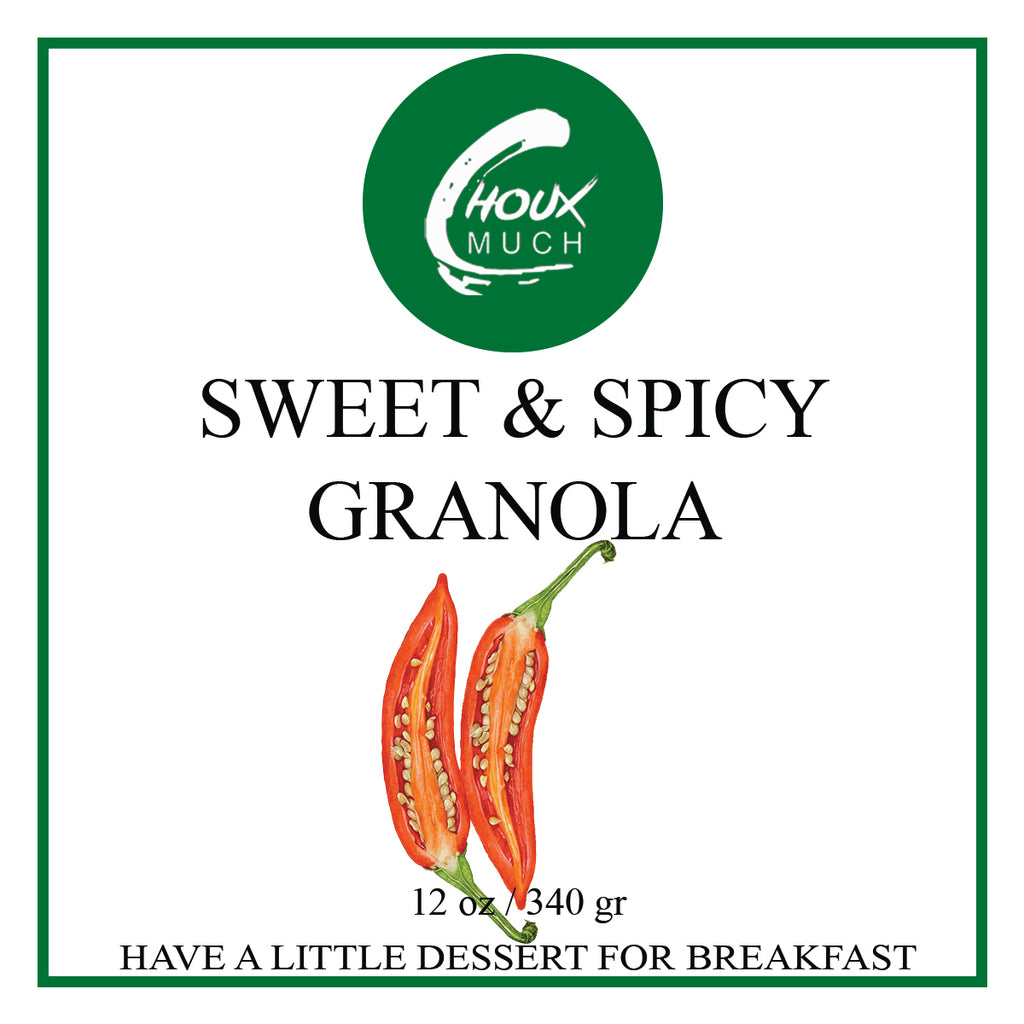Sweet & Spicy Granola