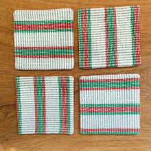 Load image into Gallery viewer, Christmas Coasters - 4 Set