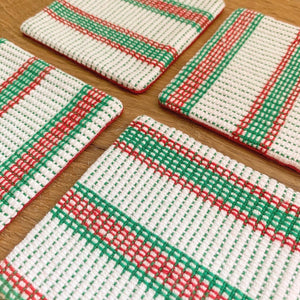 Christmas Coasters - 4 Set