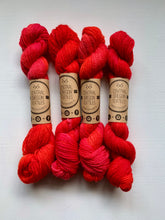 Load image into Gallery viewer, 20g - Peruvian Dyed Yarn - Cranberry Red