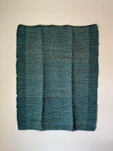 "Load image into Gallery viewer, Green and Teal Lap Blanket 35""x49.5"""