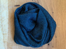 Load image into Gallery viewer, Scarf - Blue and Black