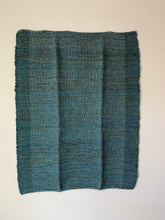 "Load image into Gallery viewer, Green and Teal Lap Blanket 35""x52"""
