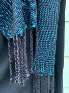 Scarf - Blue and Black