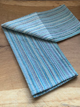 Load image into Gallery viewer, Handwoven Towel - Grey and White