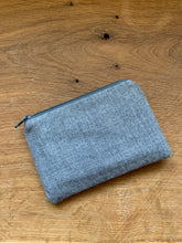 Load image into Gallery viewer, Coin Purse - Grey and Teal