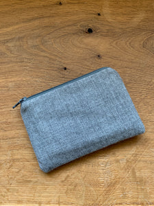 Coin Purse - Grey and Teal