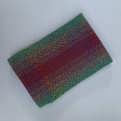 Handwoven Towel - Rainbow and Blue