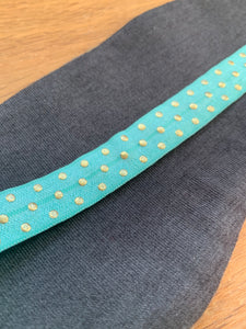 Eyemask - Teal and Grey