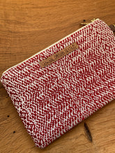 Load image into Gallery viewer, Large Clutch - Red and White
